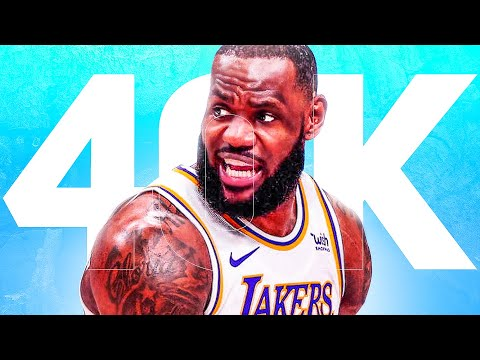 Can LeBron Still Reach 40,000 Points?