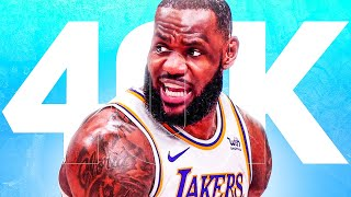 Can LeBron Still Reach 40,000 Points?