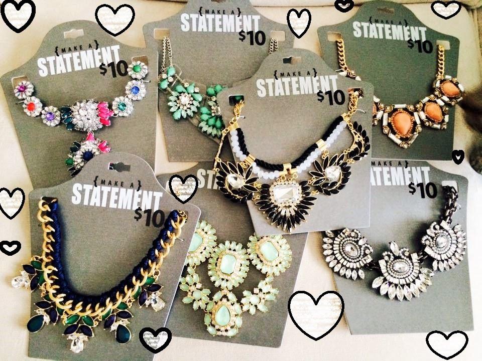 eab92f16760ed Walmart Haul: $5 Necklaces