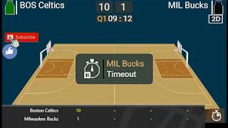 BUCKS vs CELTICS Live Full Game 12.21.18 Score, Lineups and Prediction