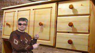 #Секретер (шкаф-стол) из дерева своими руками(Секретер в детскую из массива дерева своими руками Склейка щитов со станками: https://www.youtube.com/watch?v=Tj-Xu8Rb8hM..., 2016-01-30T18:29:32.000Z)