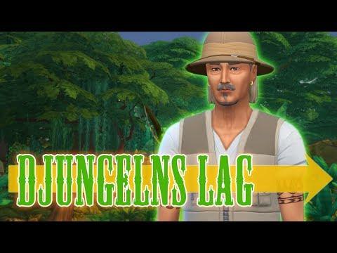 The Sims 4 DJUNGELNS LAG - Del 2: Utforskning och utgrävning