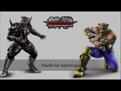 Tekken Tag Tournament 2 King And Armor King Victory Poses Youtube