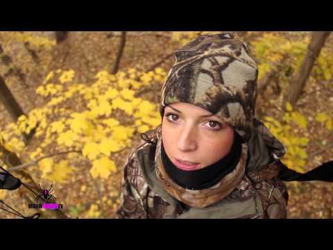 Big Deer Shot By Girl!!!!