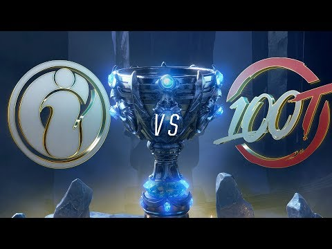 IG vs 100   Worlds Group Stage Day 4   Invictus Gaming vs 100 Thieves (2018)