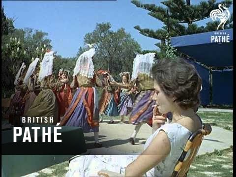 Greek Dancers (1962) - YouTube