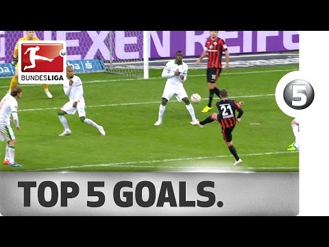 Top 5 Goals from Matchday 14 - Vote for your Goal of the Week