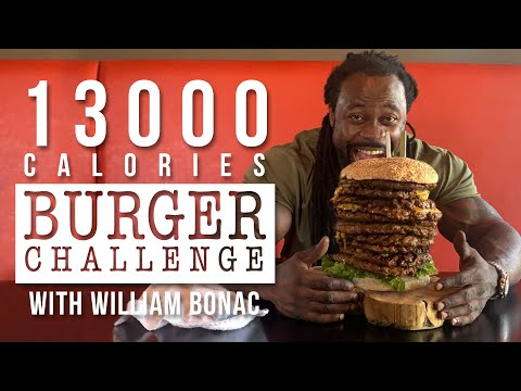 BIGGEST 13000 Calorie Burger In The Netherlands | William Bonac & Kevin Osazee | Epic Cheat Meal