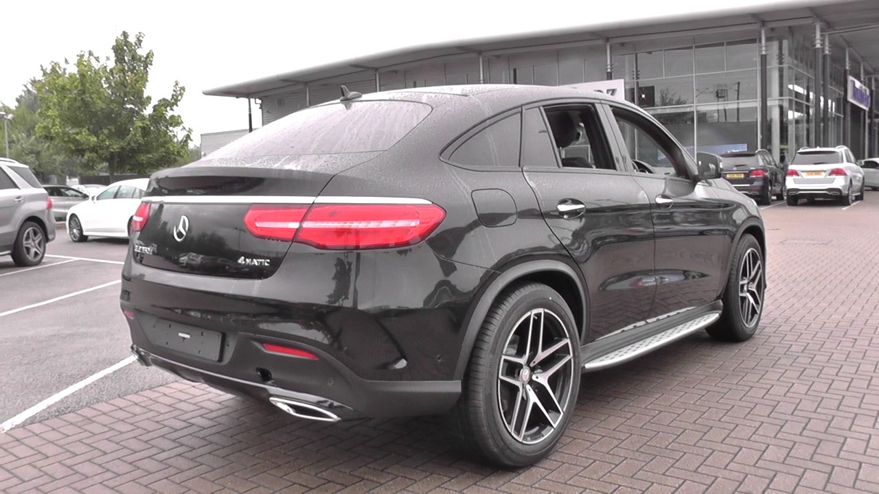 mercedes benz gle coupe gle 350d 4matic amg line premium plus 5dr 9g tron u26405 youtube. Black Bedroom Furniture Sets. Home Design Ideas