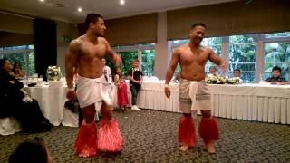 Dance performance at Vince & Rita's wedding.