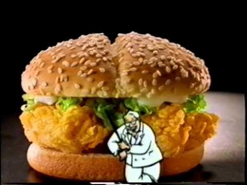 KFC Double Crunch Crispy Chicken Sandwich review - YouTube - photo#16