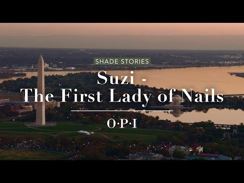 OPI Washington DC Shade Story | Suzi - The First Lady of Nails