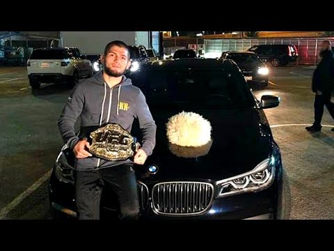 Khabib Nurmagomedov Car Collection - Ferrari, Mercedes
