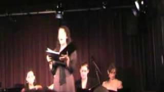 "Emily Werne sings ""Agamemnon Declares Battle"" by George Tsouris"