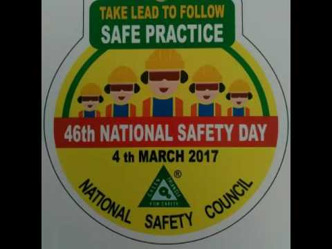 46th National Safety Day - Safety Awareness Song