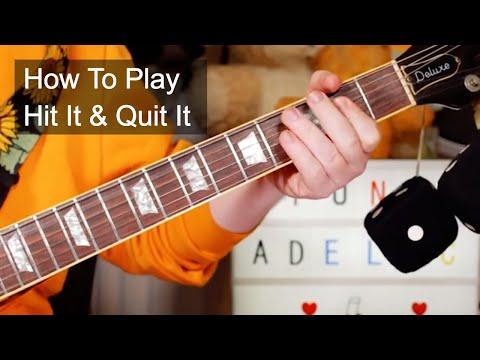 'Hit It & Quit It' Funkadelic Guitar Lesson