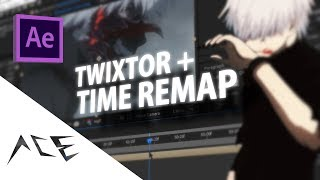 After Effects Amv Tutorial - Twixtor + Time Remap/velocity