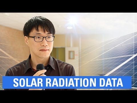 How to exploit solar radiation data?