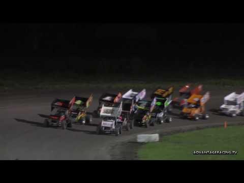 Blain Petersen up and over - Park Jefferson Speedway - 6/2/18