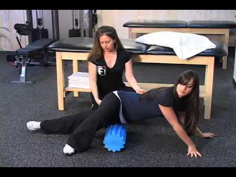 Thera Roll Foam Roller IT Band Stretch and Massage