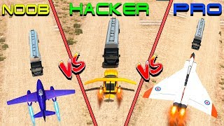Beamng drive - NOOB vs PRO vs HACKER crashes #2