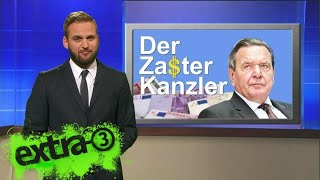Statistikexperte Butenschön zu Gerhard Schröders Engagement bei Rosneft