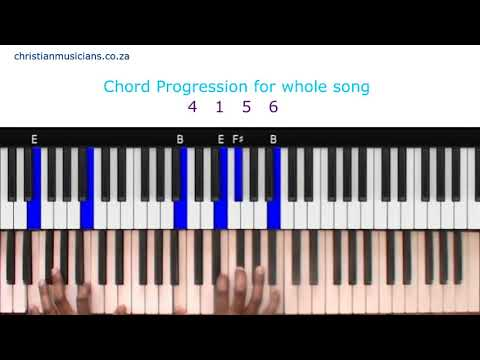 Sinach Way Maker Piano Chords Tutorial!!! - YouTube