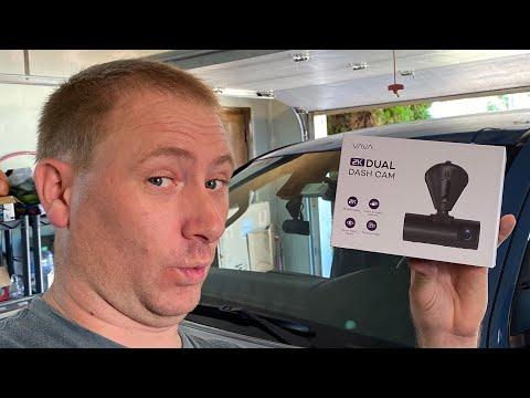 VAVA 2K Dual Dash Cam Install