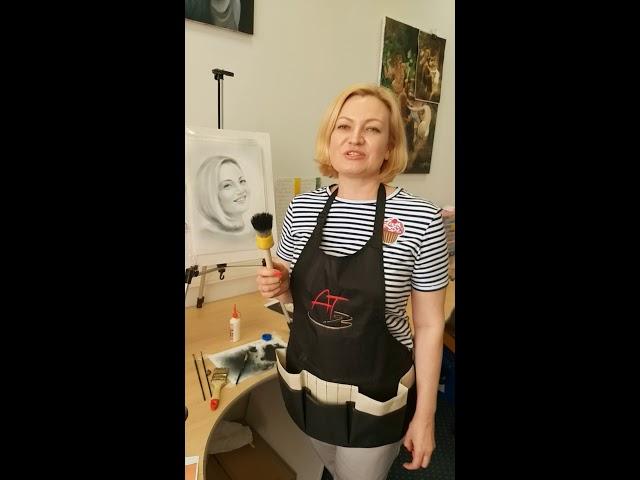 Портрет - экспресс метод. Отзыв с МК. Уроки Татьяны Арт