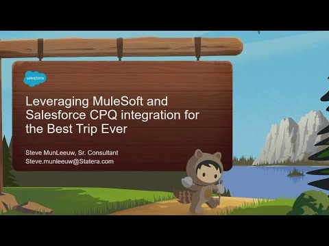 Leveraging MuleSoft and Salesforce CPQ integration for the Best Trip Ever