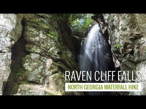 Raven Cliff Falls Trail - North Georgia waterfall hike