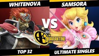 The Quarantine Series Top 32 - Samsora (Peach, Zelda) Vs WhiteNova (Ganondorf) Smash Ultimate - SSBU