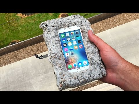 Thumbnail: Can Concrete Protect iPhone 6s from 100 FT Drop Test? - GizmoSlip