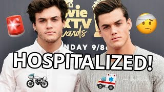ETHAN DOLAN TERRIFYING MOTORCYCLE ACCIDENT DETAILS