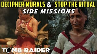 Decipher the Murals & Stop the Ritual (The Hidden City Side Missions) - SHADOW OF THE TOMB RAIDER