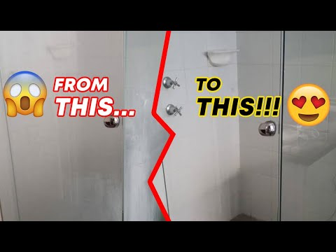 How To Remove And Prevent Hard Water Stains On Glass Shower Doors