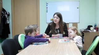 Interesting English lesson for children 3- 4 years old. Интересный урок английского для детей