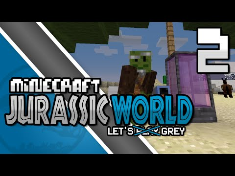 Minecraft: Jurassic World: Episode 2: The Sifting Sands of Science!