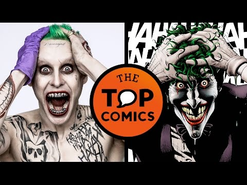 Diferencias entre el comic y la película Suicide Squad
