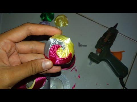 DIY Mawar Kincir 3 warna ( Rosebud Trianggle ) - Tutorial By Lista Tsurayya