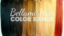 How To Pick Your Perfect Color of Clip-In Extensions: BELLAMI HAIR