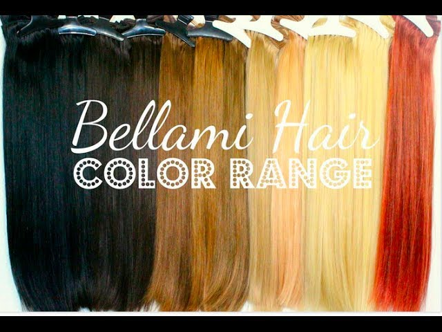How To Pick Your Perfect Color Of Clip In Extensions Bellami Hair