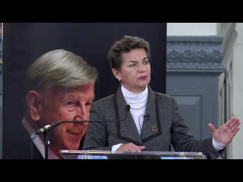 """""""What now? Next steps on climate change"""" with Christiana Figueres"""