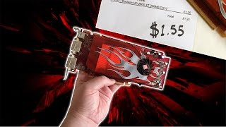 One of RandomGaminginHD's most viewed videos: Gaming With a $1.50 Graphics Card