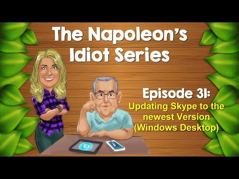 Updating Skype To Newest Version (Windows Desktop)