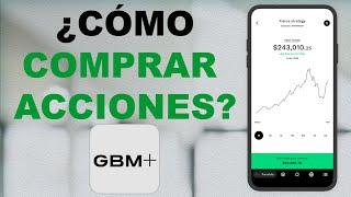 Comprar acciones PASO A PASO   Principiantes GBM +