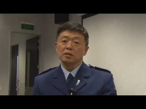 Korean Police in Auckland