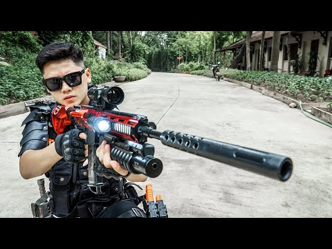 Nerf Guns War : New Mission | Caption S.W.A.T Of SEAL TEAM Fight Boss Black Dangerous Criminal Group