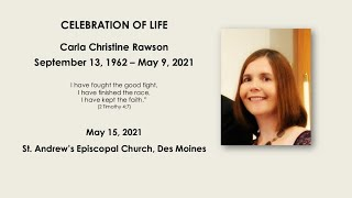 Carla Christine Rawson - Celebration of Life