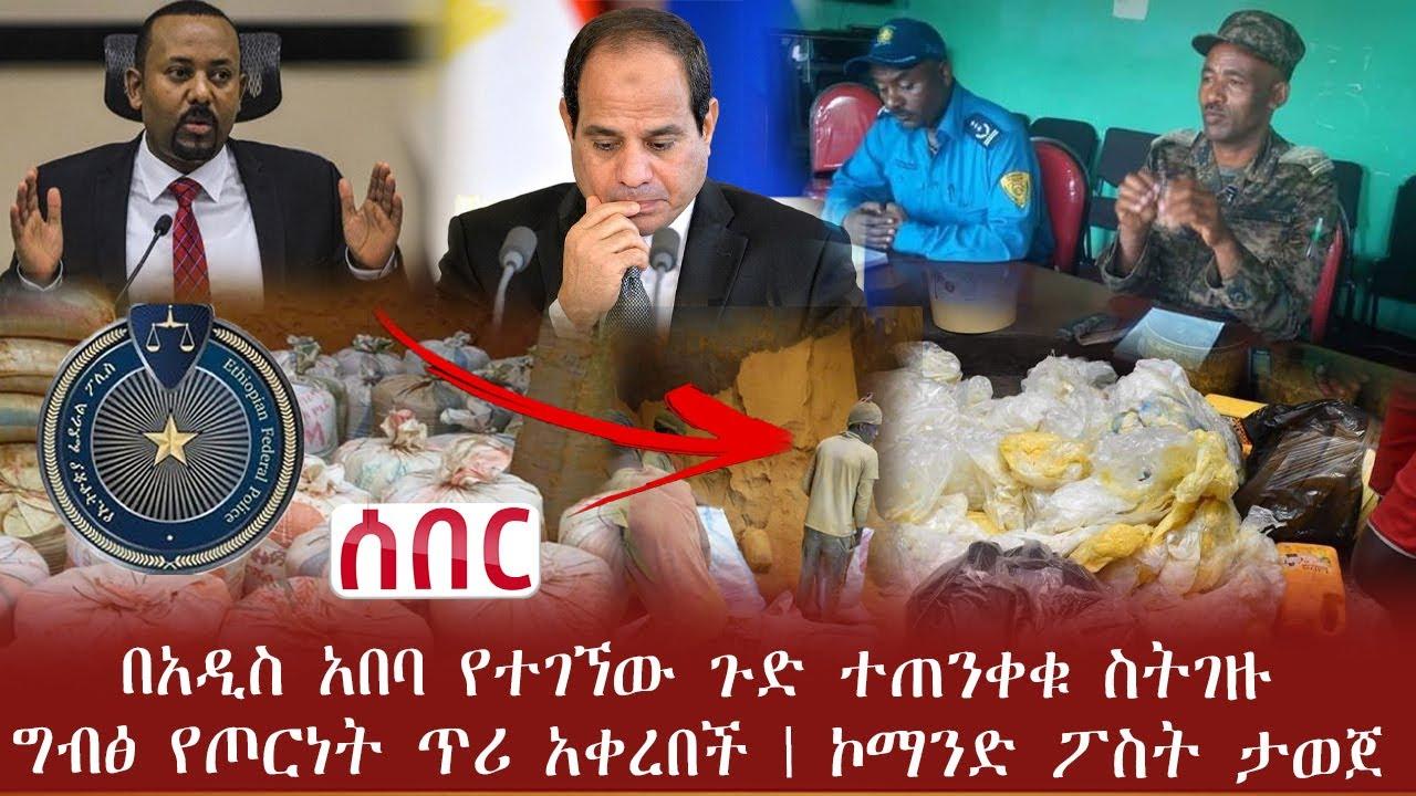 Download Ethiopia ሰበር - በአዲስ አበባ የተገኘው ጉድ ተጠንቀቁ ስትገዙ | ግብፅ የጦርነት ጥሪ አቀረበች | ኮማንድ ፖስት ታወጀ | Abel Birhanu